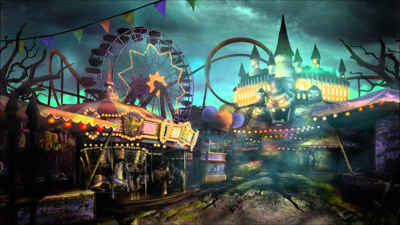 Fantasy Houses Creepy Circus Music Creepy Amusement Park Youtube