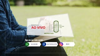 CULTO VESPERTINO IPN | 17:00 AO VIVO - Rev. Marcos Torres