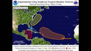 Experimental 5-Day Graphical Tropical Weather Outlook thumbnail