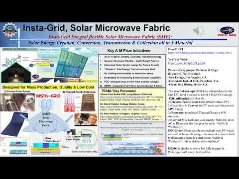 Insta-Grid, Solar Microwave Energy