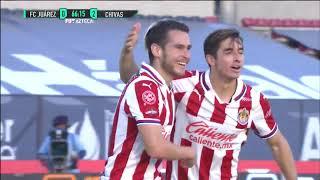 ¡Chivas consigue su primera victoria y sus primeros goles frente a Juárez!