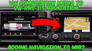 VW Composition Media to VW RNS 315 Navigation