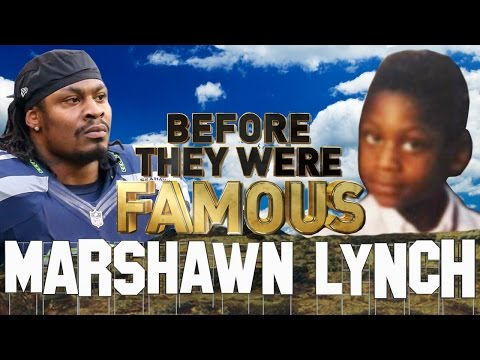 MARSHAWN LYNCH - Before They Were Famous - BEAST MODE