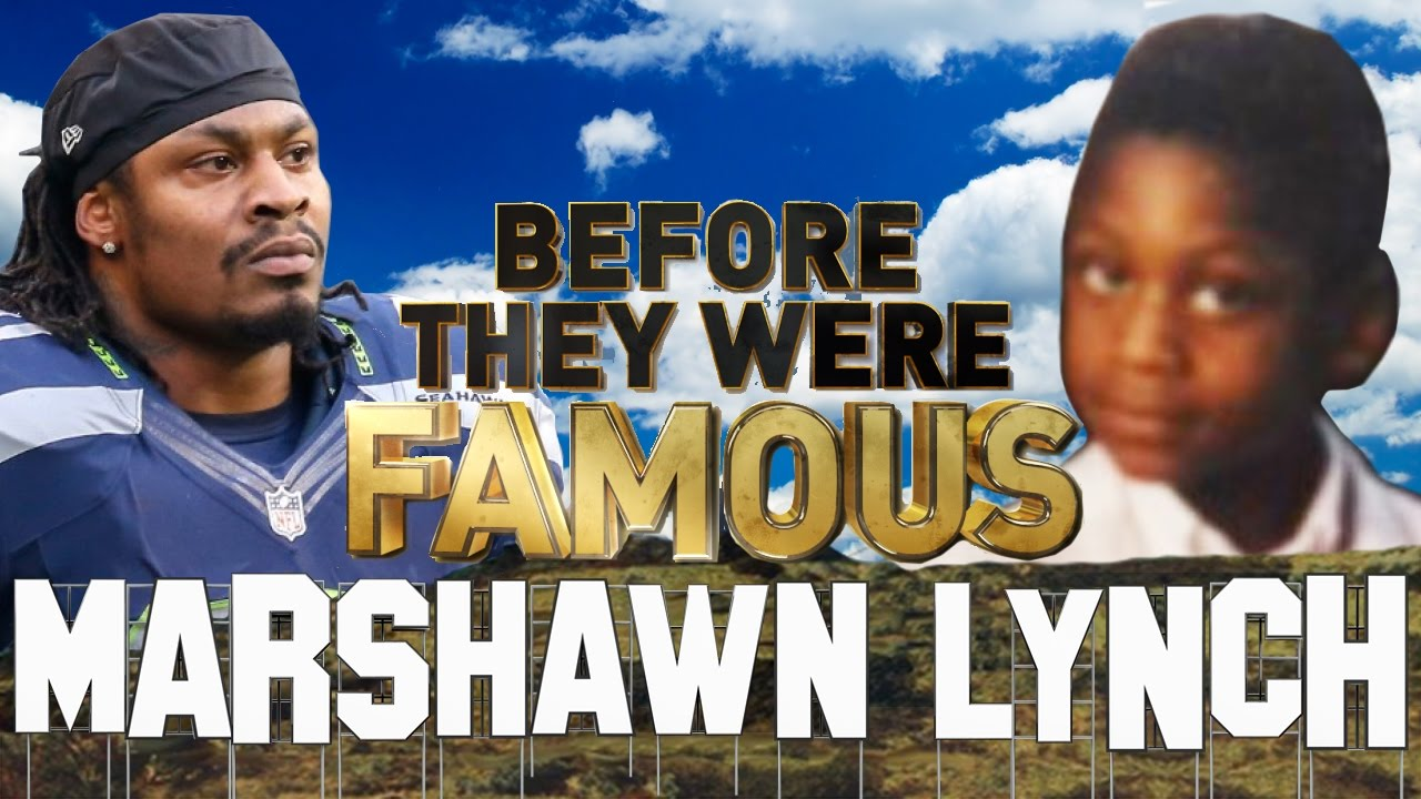 Marshawn Lynch Arrested >> Marshawn Lynch Before They Were Famous Beast Mode