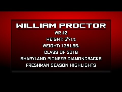 Sharyland Pioneer WR #2 William Proctor (Freshman Highlights)