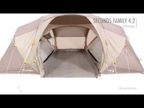 Quechua tenda campeggio seconds family youtube