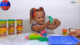 ✔ Плей До из Пластилина Магазин Сладостей с Маленькой девочкой Ярославой  Play Doh Videos  Серия 18