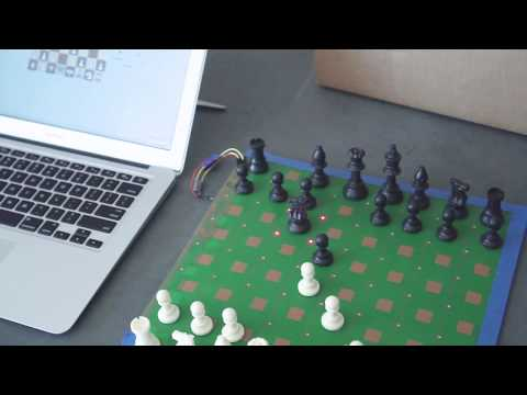 Playing on lichess with a real chessboard  : chess