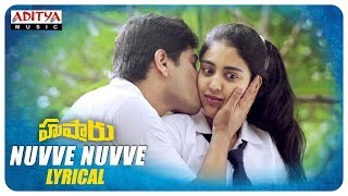 Download Lagu Hushaaru Songs | Nuvve Nuvve Lyrical | Sunny M R | Arijit Singh | Sree Harsha Konuganti MP3