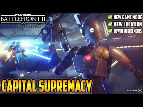 NEW Capital Supremacy Mode Full Reveal! New Location Pipeline Junction West! Star Wars Battlefront 2 thumbnail