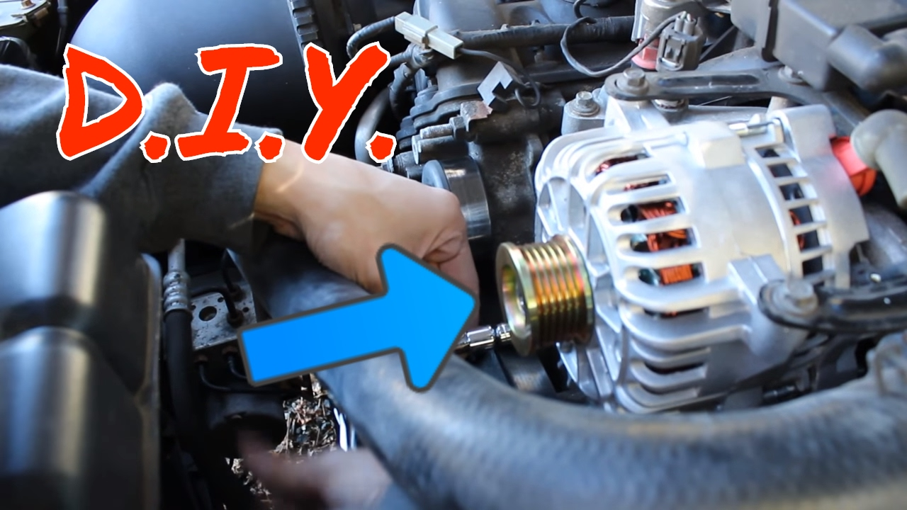 small resolution of how to change an alternator on a 99 04 mustang gt youtube 99 mustang gt alternator wiring