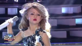 7 Year Old Impersonates Taylor Swift and sings  You Belong With Me HD