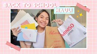 BACK TO SCHOOL HAUL 2019! (Philippines) | Yen Salvosa