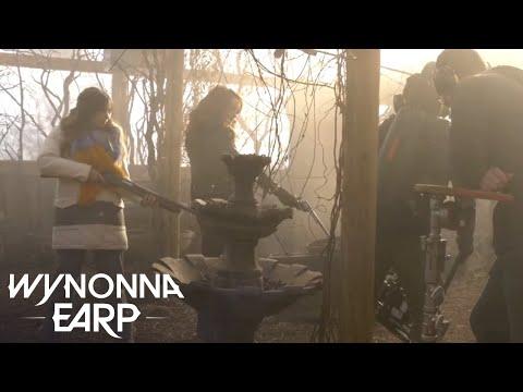 WYNONNA EARP   Behind The Scenes: Karaoke Hoedown Feat. Zoie Palmer   SYFY