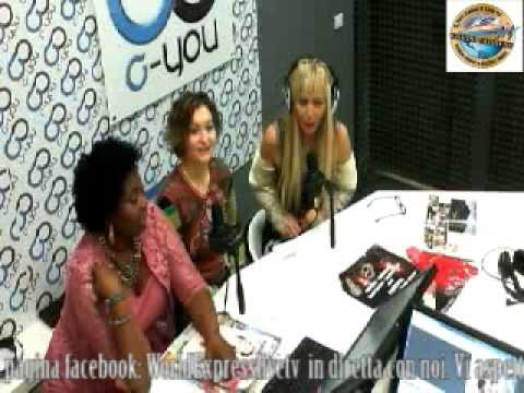 WORLD EXPRESS LIVE TV con MARCIA SEDOC & FLOWER TERRY 07 02 2014