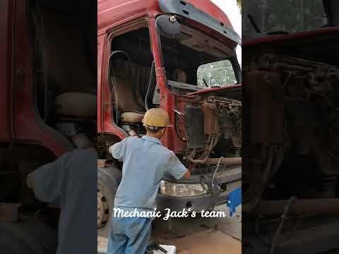Mechanic Jack| Liu Zhou Cheng Long truck crashed and restoration