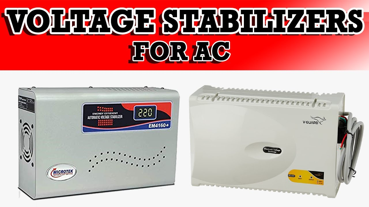 Top 4: Best Voltage Stabilizer for AC | Voltage Stabilizer Review
