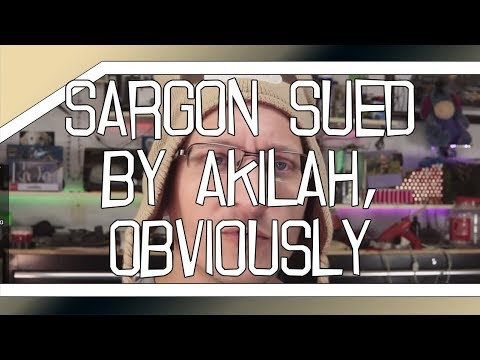 BREAKING: Sargon of Akkad sued by Akilah Hughes, obviously