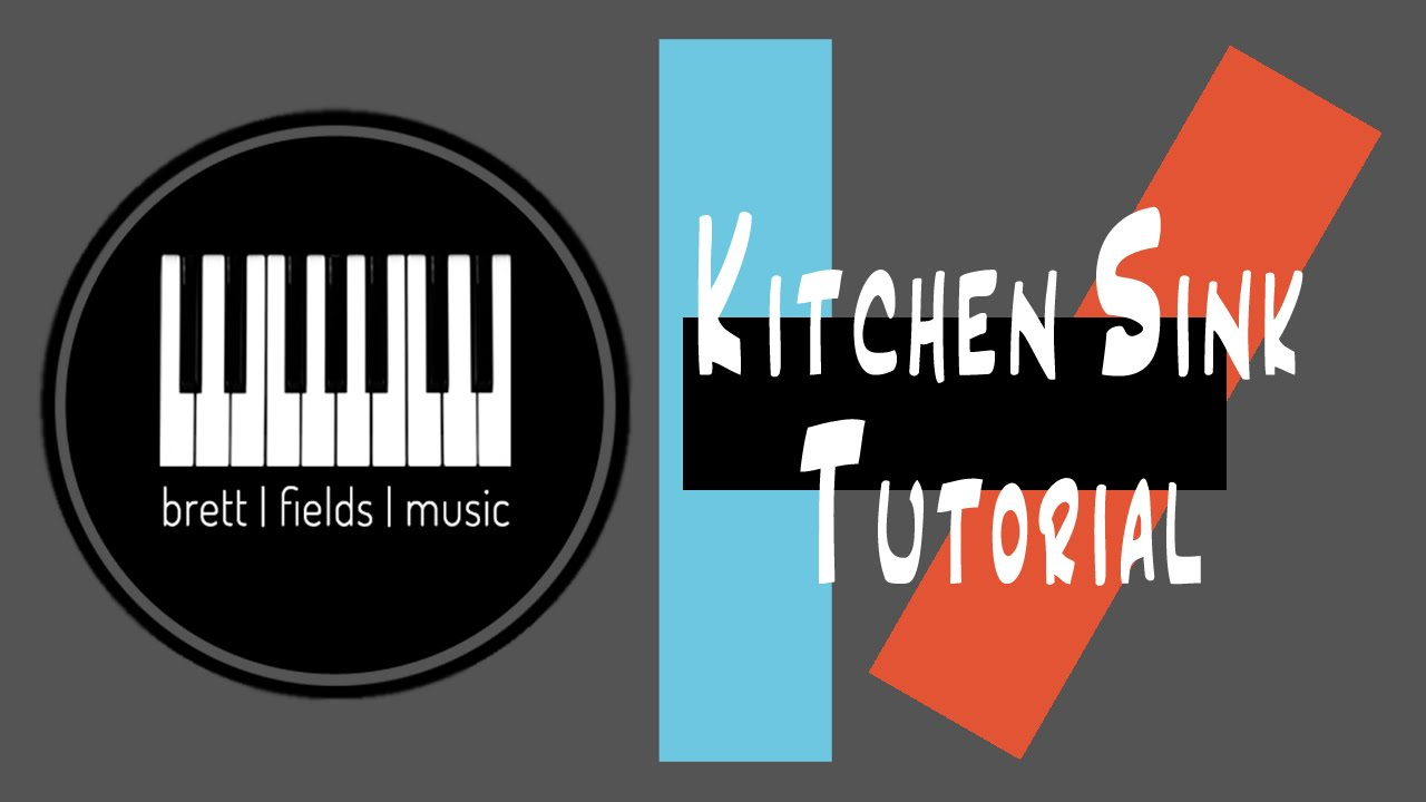 Kitchen Sink Twenty One Pilots Logo kitchen sink piano tutorial - twenty|one|pilots - youtube