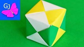 Оригами Кубик из бумаги своими руками