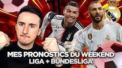 DES COTES ÉNORMES POUR MES PARIS SPORTIFS DU WEEK-END 🤑⚽️ Bundesliga + Liga (côte à 6.58 et 17.10)