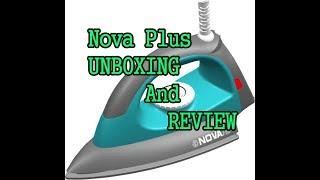 Nova Plus 1100 w Amaze NI 10 Dry Iron (Grey & Turquoise) [Unboxing and Review]