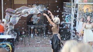 Шоу мыльных пузырей в Моршанске