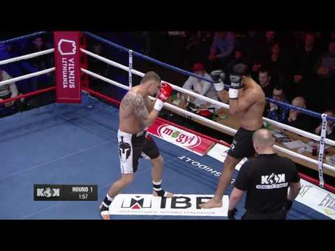 2016.03.19  Sergej Maslobojev vs. Gokhan Geddik KOK in Vilnius
