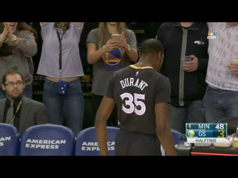 Minnesota Timberwolves vs Golden State Warriors | November 26, 2016 | NBA 2016-17 Season