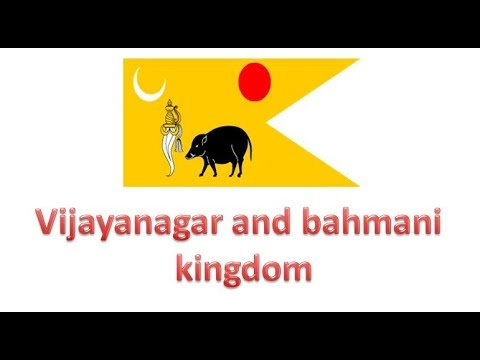 Vijayanagar and bahmani kingdom