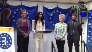 [FULL] Conchita Wurst Speech at the European Parliament, Esplanade Brussels