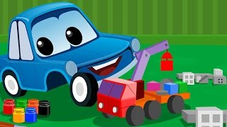 Zeek And Friends | Lets Build | Car Song and  Rhymes For Children