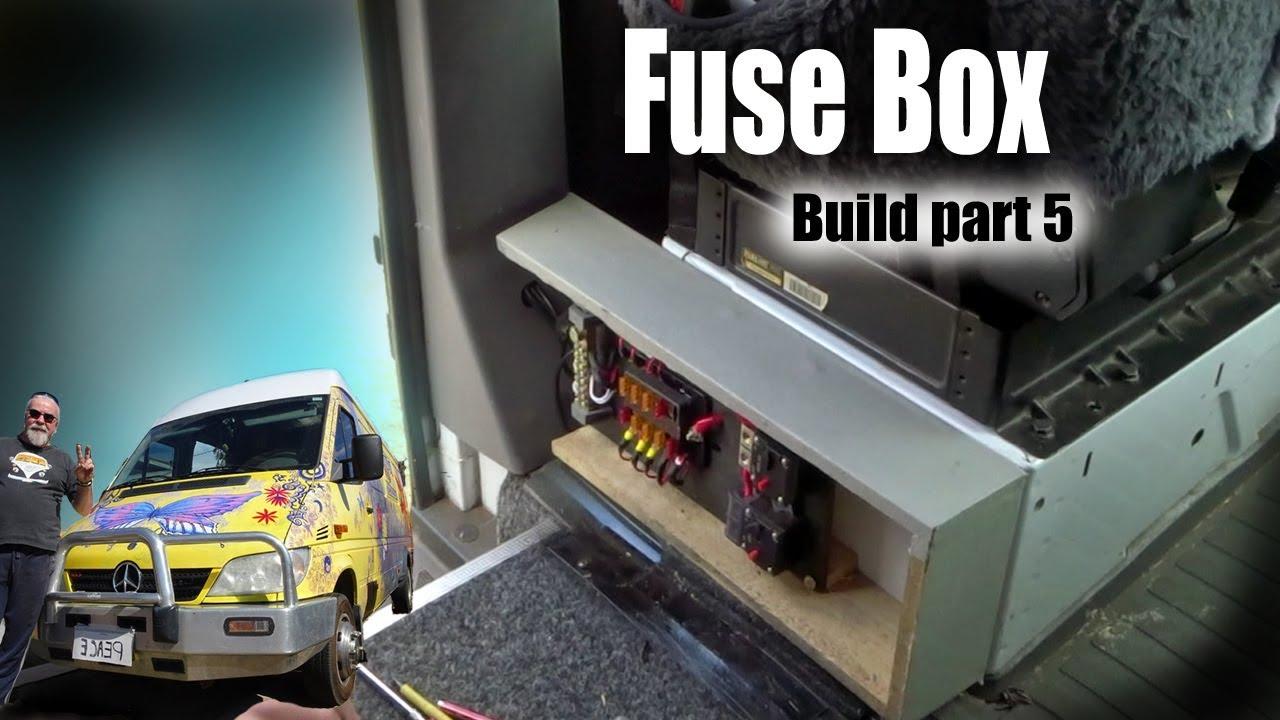 sprinter conversion build 5 fuse box youtube. Black Bedroom Furniture Sets. Home Design Ideas