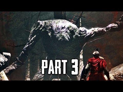 Dark Souls 2 Gameplay Walkthrough Part 3 - The Last Giant Boss (DS2)