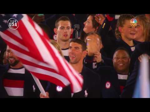 Team USA | Remembering Rio | Opening Ceremony