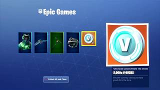 Fortnite -how to get MORE REFUND CREDITS * MAX Omega lights* Account merge