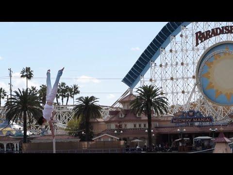 Acrobats of China Show, Lunar New Year Celebration, Disney California Adventure, Disneyland Resort