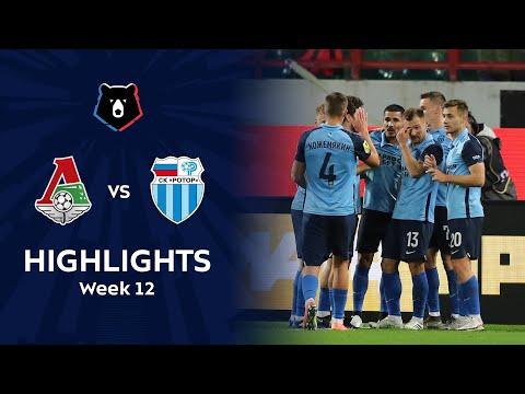 Lokomotiv Moscow R. Volgograd Goals And Highlights