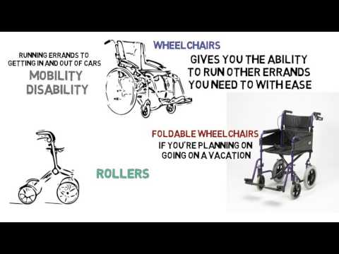 Mobility Aids – A Look At The Different Options That Are Available
