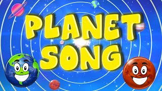 Planet Song | The Solar System Song | Preschool Learning | Kid Songs and Nursery Rhymes thumbnail