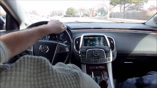 2012 Buick Lacrosse with E Assist Transmission Problems at 32 MPH