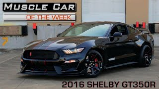 2016 Ford Mustang Shelby GT350R: Muscle Car Of The Week Video Episode 229 V8TV