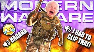 Hilarious BABY VOICE Trolling on Modern Warfare!