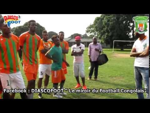 Premier entraînement du Coach Franklin Kimbongila au Fc Renaissance du Congo