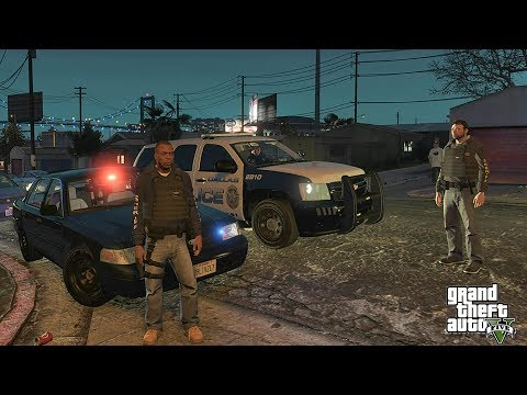 GTA 5 MODS LSPDFR 961  - GANG UNIT PATROL!!! (GTA 5 REAL LIFE PC MOD)
