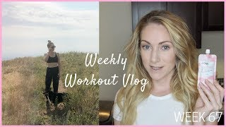 MORNING PROTEIN LATTE   LATE BEAUTY UNBOXING   WEEKLY WORKOUT VLOG 67