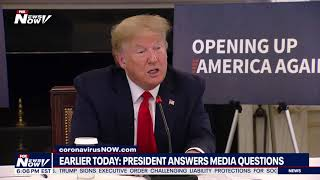 TRUMP ON POLICE BRUTALITY: President talks about GEORGE FLOYD protests