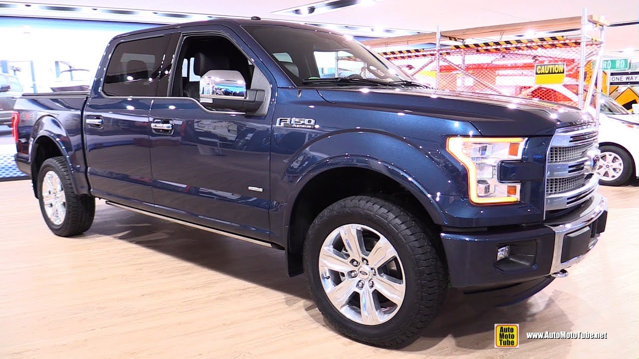 2016 Ford F150 Platinum Super Crew Exterior and Interior