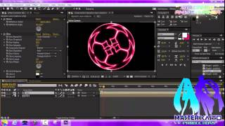 Crear un Espectro de audio Neon rotatorio, en After Effects CC【Nuevo 2015】