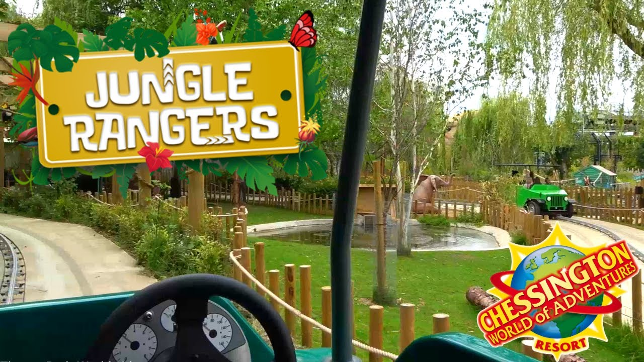 Jungle Rangers On Ride POV - Chessington World Of Adventures